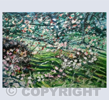 Spring blossom branches (1990)