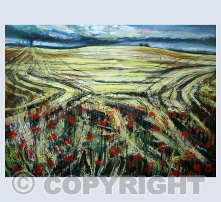 Ripe Corn and Poppies (1984)