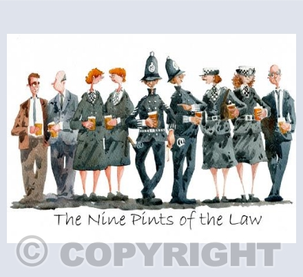 The Nine Pints of the Law