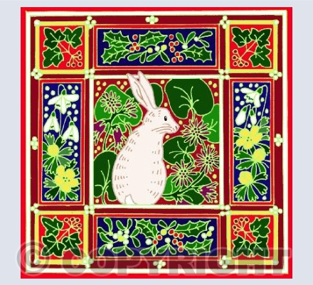White Winter Hare