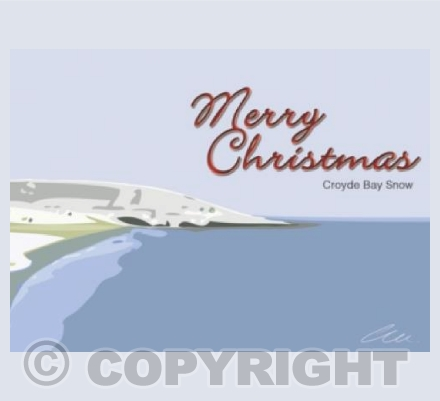 Merry Christmas, Croyde Bay Snow