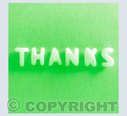 Thanks - Green