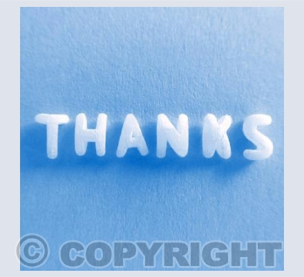 Thanks - Blue