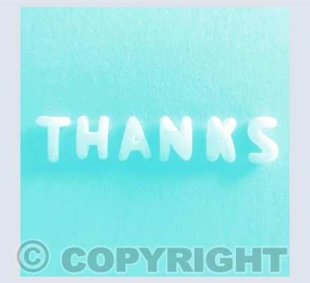 Thanks - Turquoise