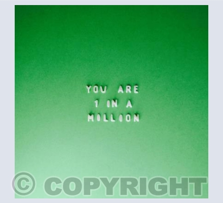You are 1 in a Million