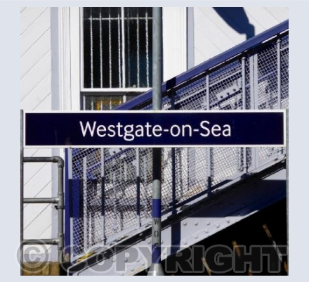 Railway Sign - Westgate-on-Sea