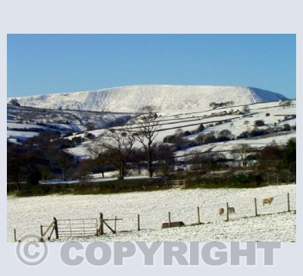Pendle from Blacko