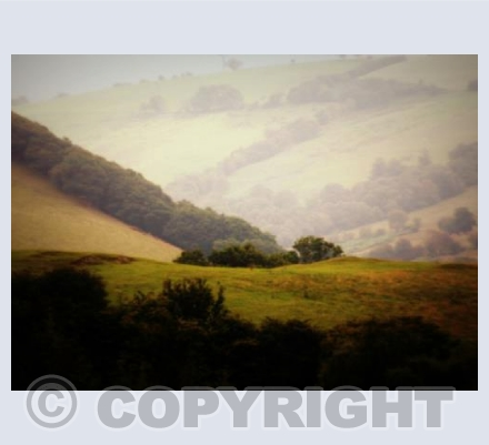 CHAPEL FARM HILLS Nr Llanidloes