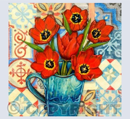 Tulips and Tiles