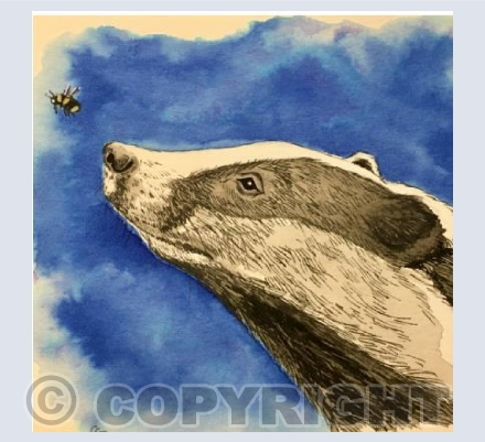 Badger and Bee