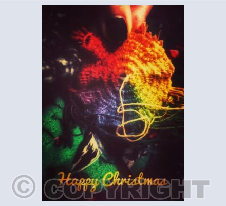 Happy Christmas Colourful