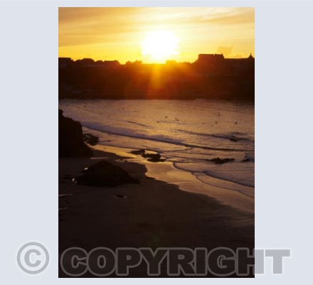 Towen beach, Newquay