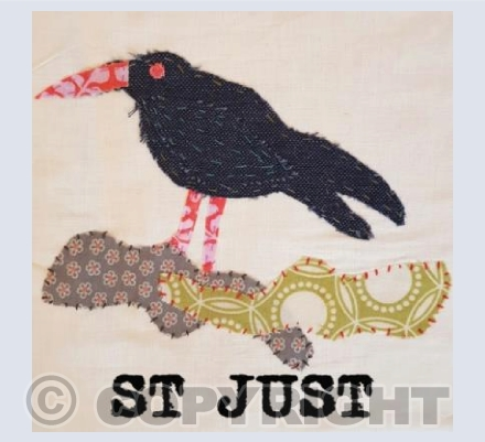 St Just Chough Collage