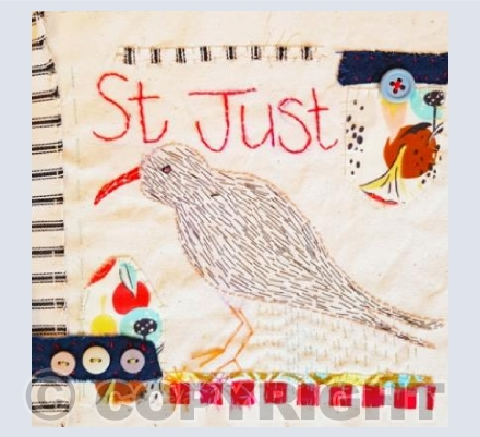 St Just Chough and Buttons