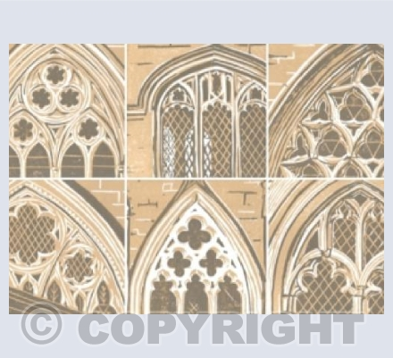 Six Cathedral Windows