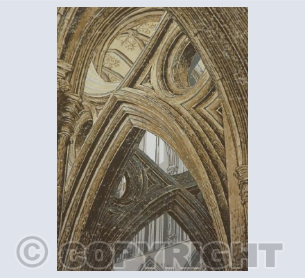 Wells Cathedral Scissor Arch