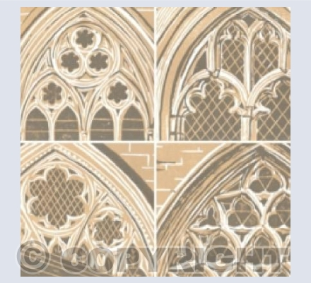 Four Cathedral Windows