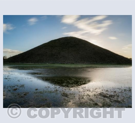 Silbury Hill, late afternoon