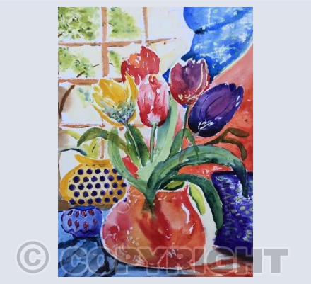 Jug of Tulips
