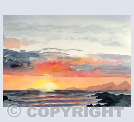 Sunset 2, False Bay