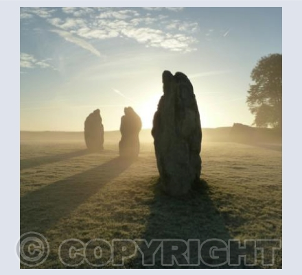 Avebury Sunrise Shadows