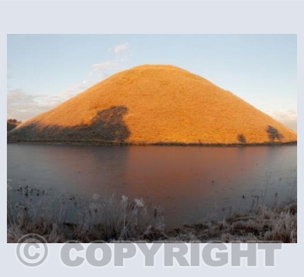 Silbury Golden Sunrise