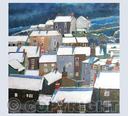 Winter at Staithes