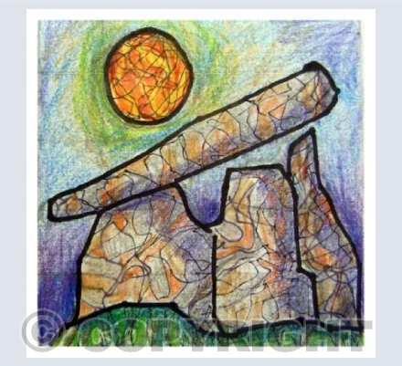 Sketch - Trethevy Quoit