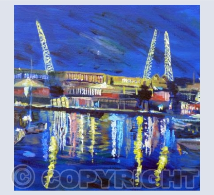 Bristol - Night Cranes