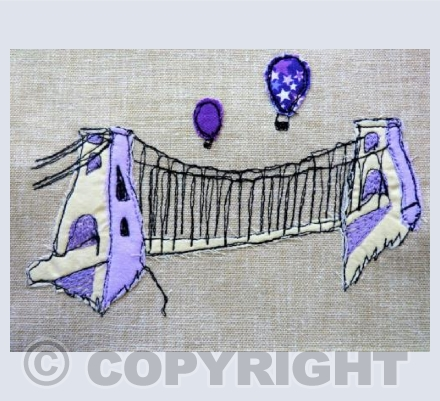 Bristol Suspension Bridge Textile