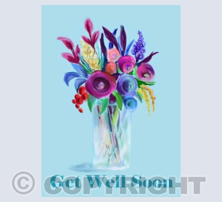 Get Well - Fantasy Flowers