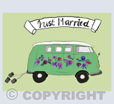 Wedding camper van