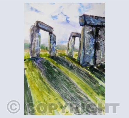 Stonehenge first light