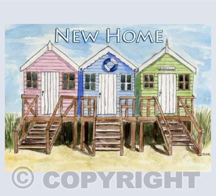 New Home Beach Huts