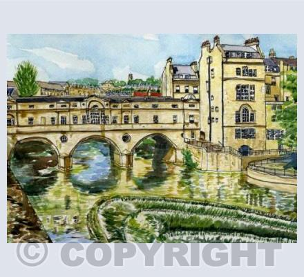 Bath - Pulteney Bridge