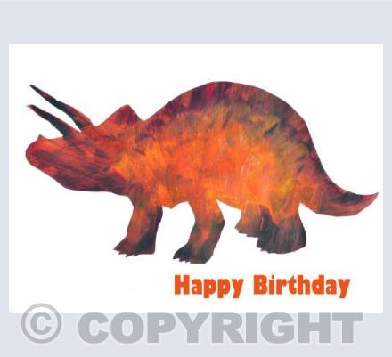 Birthday ~Triceratops