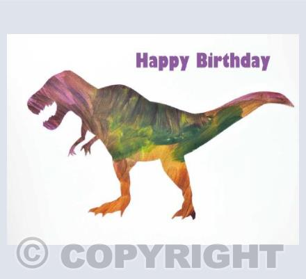 Birthday T Rex