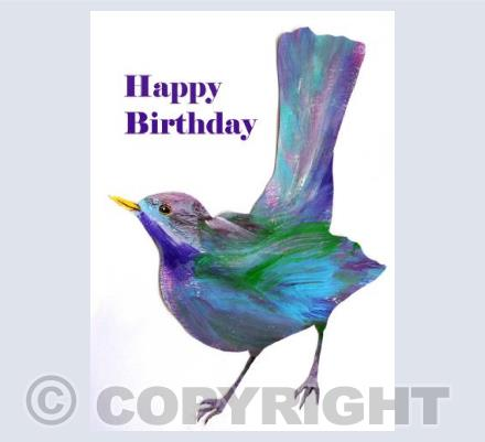 Birthday Blackbird