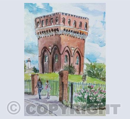 Bristol - Water Tower - Knowle