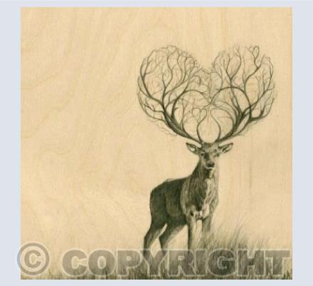 Heart Stag