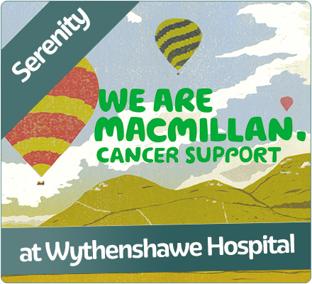 Buy cards and prints to support Macmillan's Information and Support Centre at Wythenshawe Hospital