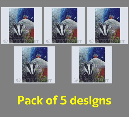 Yule Badger Pack