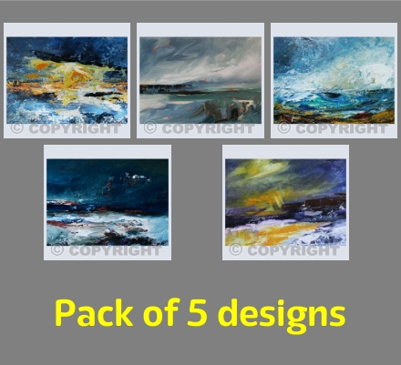 Seascapes: 5 designs