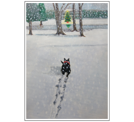 Maggie's Christmas Walk by Jane Molineaux Boon