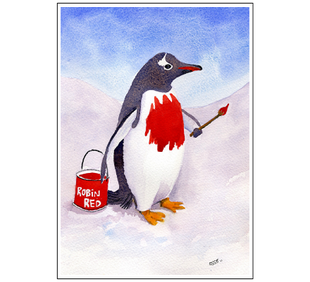 The Christmas Penguin by Alex Pointer